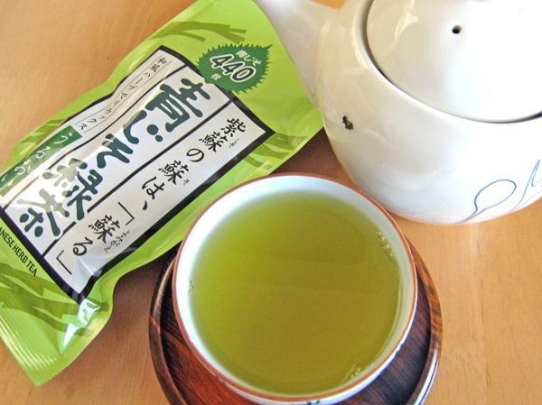 青じそ入り緑茶100g