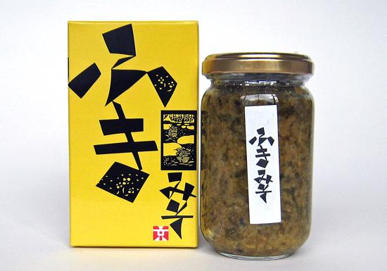 【八百秀】ふき味噌 瓶 180g