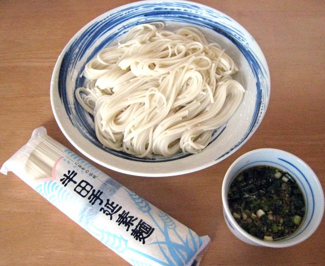 【送料無料!!】八百秀 半田手延べ素麺 5Kg(100g2束×25袋)(中太)