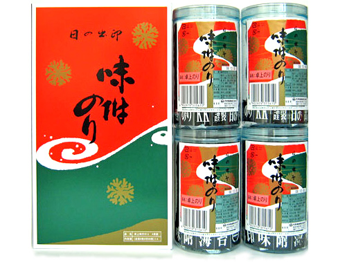 大野海苔 味付卓上 4本入化粧箱
